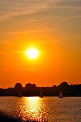 Sunset Nijkerkergauw (https://www.facebook.com/ArrrrtDesignPhotography) Tags: sunset summer sun water netherlands evening stock setting nijkerk arrrrt nijkerkernauw arjenvanderbroek arrrrtcom