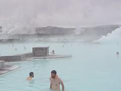 The Blue Lagoon (bitingmidge) Tags: swimming iceland steam baths geothermal bluelagoon rejkyavik