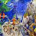 Un grande pannello dipinto rappresentate la storia di El Salvador (2)
