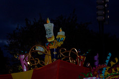 IMG_5654 (onnawufei) Tags: disney parade disneyworld lumiere wdw waltdisneyworld magickingdom beautyandthebeast