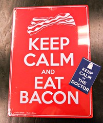 98/365:  So, Would That Be Bacon With The Doctor? (MountainEagleCrafter) Tags: blue red two metal fun funny pair magnets bookstore amusing magnetic day98 keepcalm apicaday 98365 4813 shootfirstaskquestionslater day98365 3652013 imthedoctor 2013yip 365the2013edition pad2013365 2013internationalbeauty 08apr13 04082013 andeatbacon strangenowimhungryforbaconlookingatthis iknownowyouwantbacontoo unlessyouarethinkingaboutthetardis doesanyoneeverreallyreadtags