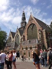 Oude Kerk (mgrenner57) Tags: church netherlands amsterdam europe photostream oudekerk 2013