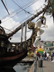 DSC08515 (Kate Hedin) Tags: ocean sunset sea italy sun water port boat dock mediterranean ship genoa genova
