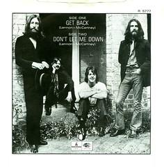 19 - Beatles, The - Get Back - UK - 1982- (Affendaddy) Tags: uk 1969 apple 1982 thebeatles parlophone dontletmedown getback collectionklaushiltscher vinylsinglesbox 27beatlessinglesbox