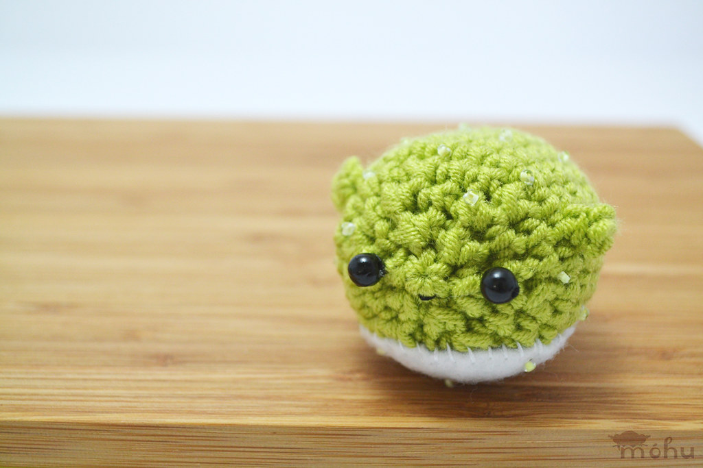 The world 39 s best photos of amigurumi and fish flickr for Puffer fish stuffed animal