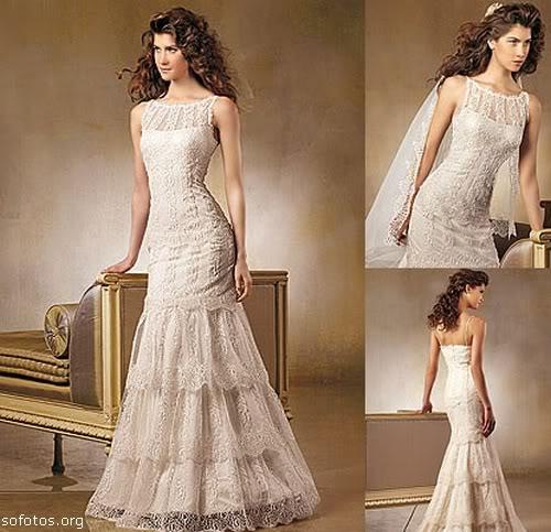 Vestidos de noiva elegantes