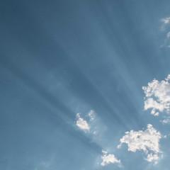 sunbeams at sunset (Brian Negus) Tags: sunset summer cloud sunbeam loughborough