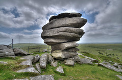 The Cheesewring on Bodmin Moor (rosiespoonerphotos) Tags: uk england landscape nikon rocks quarry hdr westcountry bodminmoor minions cheesewring photomatix tonemapped stoweshill d5000 rosiesphotos nikond5000 tamronspaf1024mmf3545diiildasphericalif 1flickrmaybe rosiespooner rosyrosie2009 rosemaryspooner rosiespoonerphotography