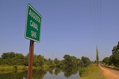 Augusta Canal (DancingTerrapin) Tags: canal traintracks trains augustageorgia
