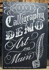 011 (2) (long village lettering) Tags: chalk signage chalkboard