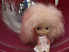 Maeve at the playground