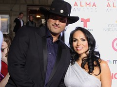Robert Rodriguez and Isabel Cuevas