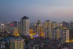 vl_02570 (Hanoi's Panorama & Skyline Gallery) Tags: street city bridge sunset sky panorama building skyline architecture skyscraper canon asian asia downtown capital skylines hanoi asean appartment hni 2013 skyscrapercity trunghanhnchnh cugiy eurowindow caoc trnduyhng