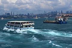 101 (hiba_safwan) Tags: city blue sea summer clouds canon turkey boat istanbul bosphorus
