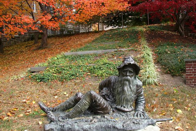 Rip Van Winkle Statue
