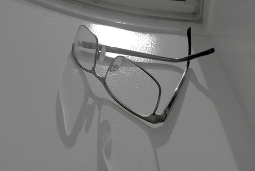 Spectacles on Sill
