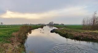 ..De polder van Bergen NH..