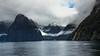 Blue Sky at Milford Sound (GreyStump) Tags: newzealand snow water day nz fjord milfordsound fiord fiordland topf400 thegalaxy naturesgallery 9000v360f projectweather mygearandme blinkagain greystump pwwinter inspiringcreativeminds copyrightcolinpilliner