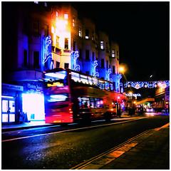 brighton bus (garageowns) Tags: street camera city night square brighton shot nightshot hove cheap 2013