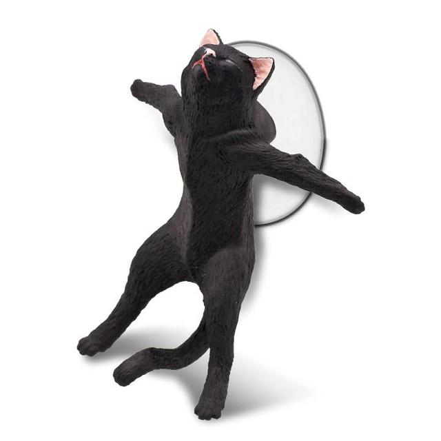 『這裡有我,你要幸福喵...』越來越悲情的貓咪手機座第三彈登場~