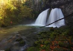 Guy et la Cascade des Combes vers Saint Claude, Jura (francky25) Tags: guy saint la des jura claude et cascade franchecomté vers combes