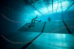Nageurs pratiquant l'apne en piscine (Bellerive-sur-Allier (03700), Allier(03), France). (Emmanuel LATTES) Tags: people man france male girl french nager women underwater view adult exercise femme bottom swimmingpool freediving swimmer static practice swimmers allier fille apnea fond auvergne homme piscine practicing nageur practising freedivers exercising freediver aquaticcentre vva physicalactivity swimpool sousmarine apne exercice breathholding statique nageurs breathhold apnoea dansleau aquaticstadium allier03 prisedevuesousmarine underwatersport stadeaquatique bellerivesurallier activitphysique stainlesssteelpool communautdagglomrationdevichyvaldallier bellerivesurallier03700 bassineninox sportsousmarin