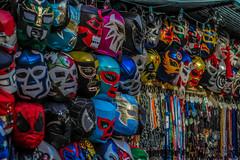 Wrestling Masks (Charlie Lee.) Tags: california usa america canon la losangeles unitedstatesofamerica westcoast 미국 캐논 600d 캘리포니아 북미 서부 eos600d rebelt3i 미국서부