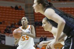 Oklahoma State University Cowgirls vs TCU Horned Frogs Basketball Game, Tuesday, January 14, 2014, Gallagher-Iba Arena, Stillwater, OK (OSUAthletics) Tags: jones osu frogs tcu cowgirls womensbasketball 2014 oklahomastateuniversity texaschristianuniversity hornedfrogs 20132014 lashawnjones