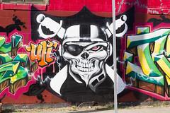 UTI Crew, Raider Nation (Eduardo Soriano-Castillo) Tags: graffiti oakland january eastoakland 2014