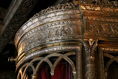 detailed curved brass (David Carriel) Tags: detail st louis theater landmark historic missouri fox brass carvings intricate