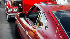 Reds (Youresolidgold) Tags: arizona cars 50mm sony scottsdale import pavilions carshow datsun 240z a55