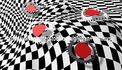Checkered pattern (www.pond5.com/artist/vitanovski) Tags: white abstract black texture modern vintage design moving pattern background retro clipart backdrop winding psychedelic waving seventies wavy twisted opticalillusion sixties seamless repeatpattern opart twisting textiledesign repeatingpattern fabricdesign
