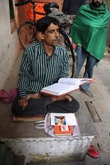 Scriptures Reader (BrianRope) Tags: india varanasi