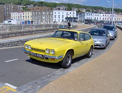Weston-super-mare May 2011 Reliant Scimitar GTE OPE 996L (ukdaykev) Tags: car may westonsupermare scimitar reliant gte 2011 reliantscimitar scimitargte ope996l