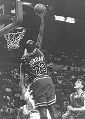 MJ Dunking (CLE Camera Guy) Tags: basketball national coliseum bullsmichael associationnbacleveland cavalierscavschicago jordandanny ferryrichfield