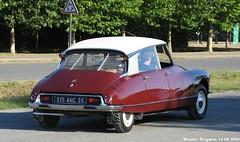 Citroën DS (XBXG) Tags: auto old france classic car vintage french automobile id ds citroën voiture mans le frankrijk 72 2009 lemans ancienne tiburón sarthe snoek citroënds déesse française strijkijzer eurocitro