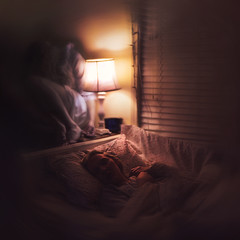 every night (sparkbearer) Tags: light girl night scary bed spirit sleep ghost digitalart dream surreal creepy dreams fineartphotography sparkbearer chelseaknight lensblr photographersontumblr vision:sunset=0817 vision:sky=0886