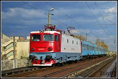 40-0770-4 (Zoly060-DA) Tags: red white electric train grey sweden 4 romania co locomotive passenger 40 5100 brasov kw cluj napoca cfr regio asea scrl 0770 calatori outstandingromanianphotographers