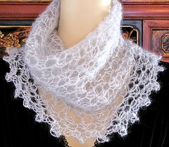 Starwirbel Cowl (vashtirama) Tags: scarf vintage spiral grey veil lace crochet gray mohair bling lacy capelet paillettes mantilla picots edging laceweight mydesign sequined spiraling cowl loopscarf fascinator shoulderwarmer daisystitch starstitch shoulderette antiquecrochet ringscarf designingvashti newcrochetstitch schulanakidpaillettes ringstitch continuousrounds