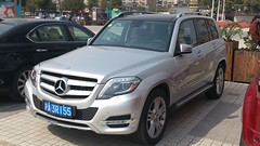 Mercedes GLK facelift China 2013-03-04