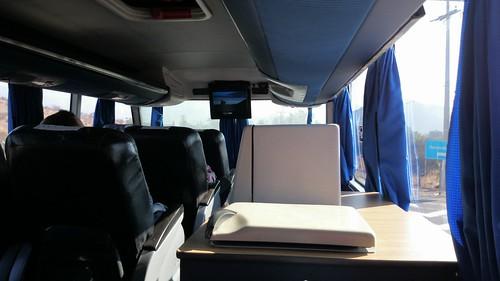 bus ride Santiago to Mendoza