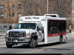 Toronto Transit Commission #W165 (vb5215's Transportation Gallery) Tags: toronto bus ford senator ttc transit friendly lf commission 2009 sii f450 startrans