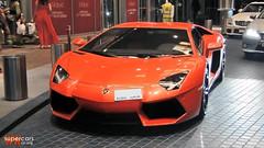 Lamborghini Aventador LP700-4 in Dubai, UAE (WWSupercars) Tags: dubai uae lamborghini dubaimall aventador wwsupercars