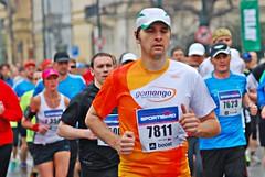 Meditation   Prag-Halbmarathon -  5.4.2014 (Uli He - Fotofee) Tags: sport nikon marathon prag uli ulrike 2014 sportlich nikond80 fotofee ulrikehe ulrikehergert ulihe pragmarathon