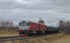 2M62UM-0111 (Kolyan_R.) Tags: м62 2м62 2м62у 2м62ум тепловоз локомотив жд поезд латвия перегон m62 2m62 2m62u 2m62um 2m62um0111 livani station train railroad latvia ldz loco locomotive