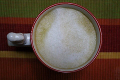 Latte Vainilla II (Liragraph) Tags: coffee café latte vainilla vanilla cup taza squirrel ardilla