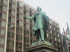 Jozsef Eötvös, Hungarian Patriot (cohodas208c) Tags: jozsefeötvös adolfhuszar pest hotelintercontinental statue sculpture publicart