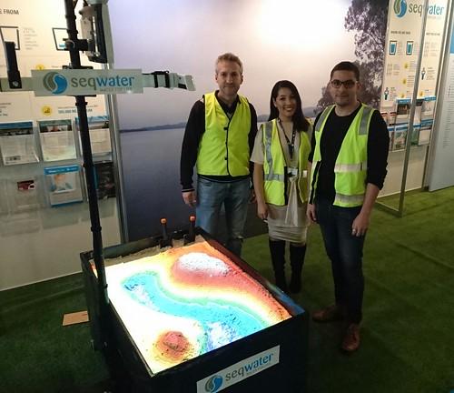 Seqwater Ekka Installation: VR Sandpit Team Photo