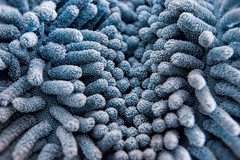 """Macro Mondays theme : """" Cloth/Textile """" (Belements) Tags: macromondays macro clothtextile microfiberglove structureofmicrofibre structure microfibre fluffy glove handschoen cloth textile textiel"""