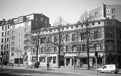 Övre Husargatan (rotabaga) Tags: sverige sweden svartvitt göteborg gothenburg blackandwhite bw bwfp diy caffenol